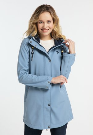 Parka - blue denim