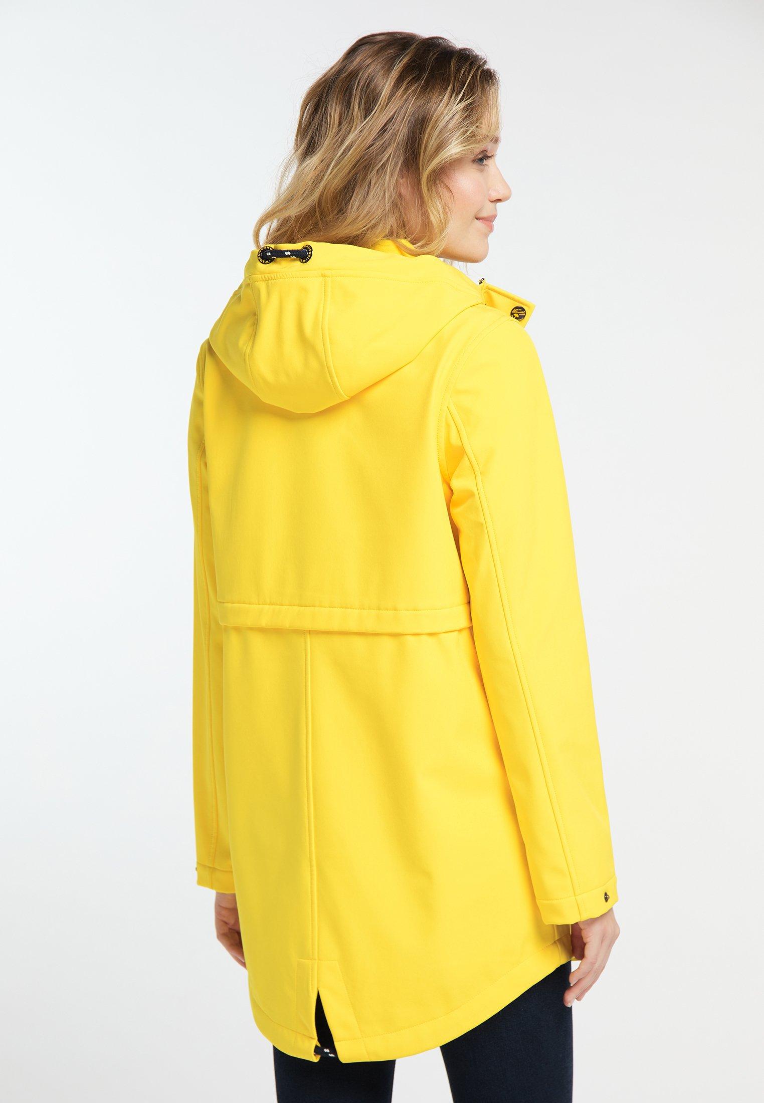 Schmuddelwedda Parka - yellow