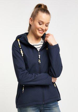 Outdoor jacket - dark navy melange