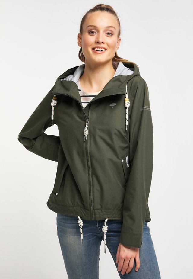 Regnjakke / vandafvisende jakker - dark green