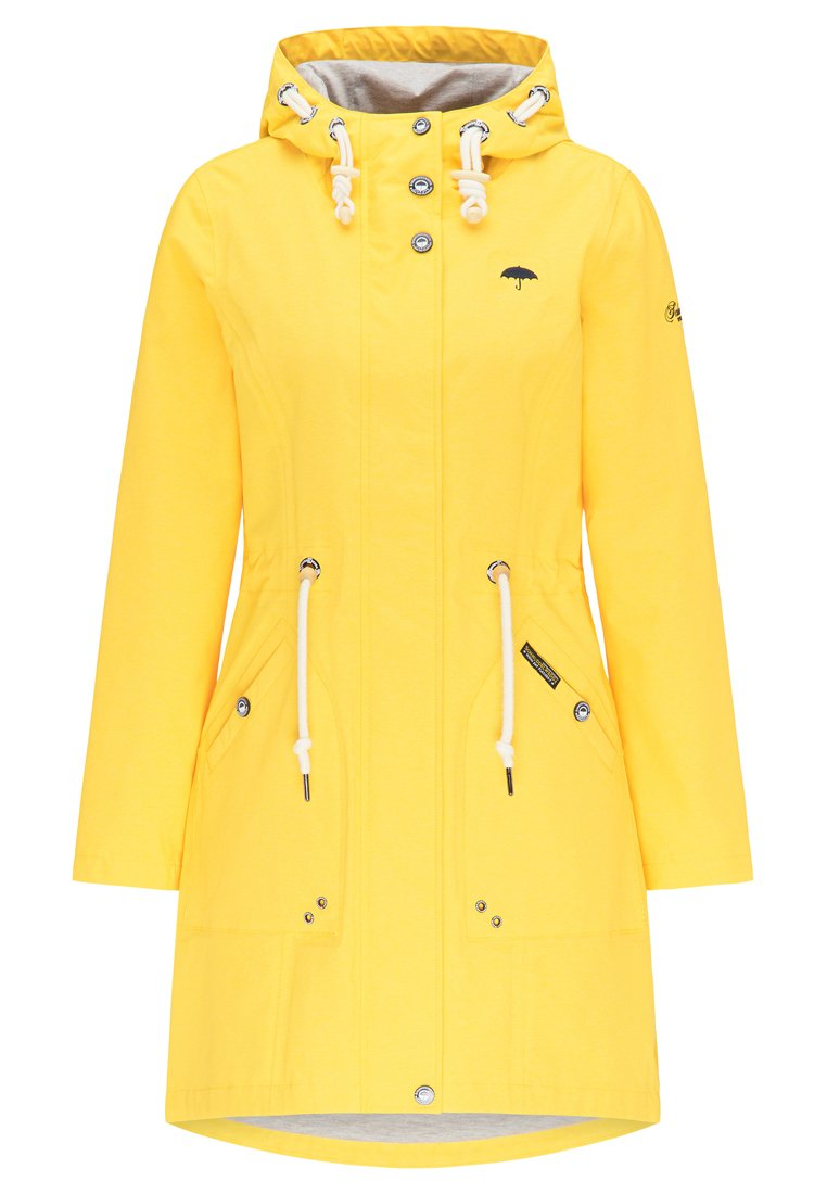 Schmuddelwedda Parka - yellow mixture