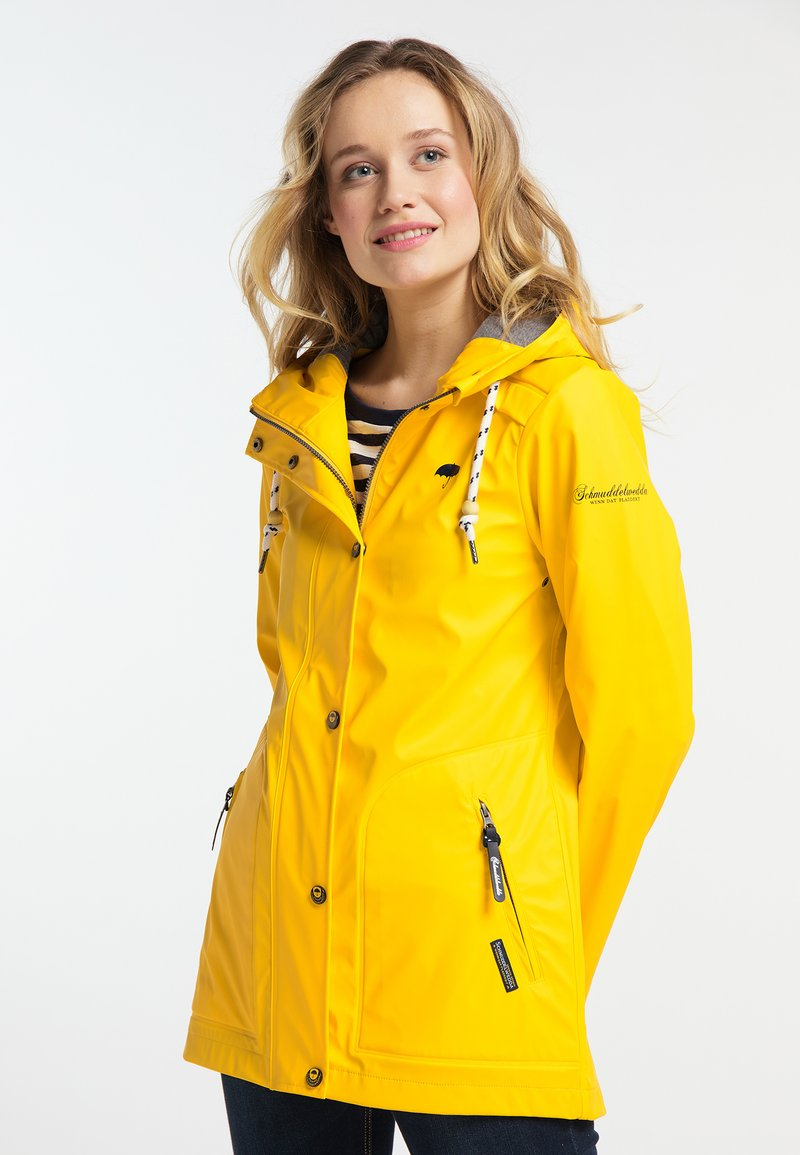 Schmuddelwedda - FRIESENNERZ - Parka - yellow