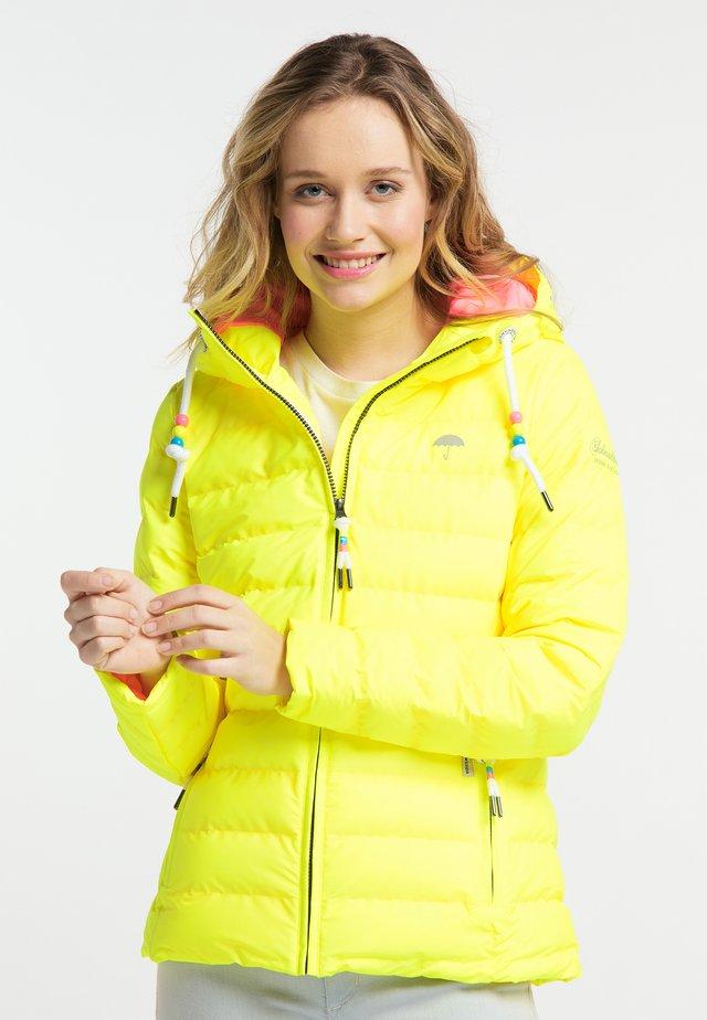 Winterjas - neon yellow