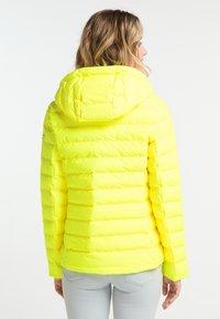 Schmuddelwedda - Kurtka zimowa - neon yellow - 2