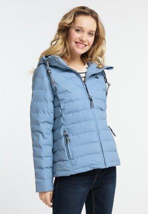 Veste d'hiver - jeansblau