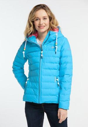 Kurtka zimowa - neon blau