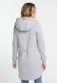 Schmuddelwedda - Zip-up hoodie - light grey melange - 2