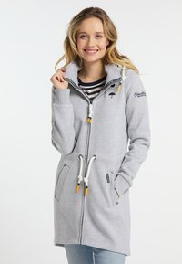 Schmuddelwedda - Zip-up hoodie - light grey melange - 0