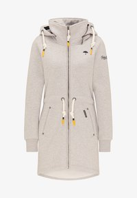Schmuddelwedda - Zip-up hoodie - light grey melange - 4