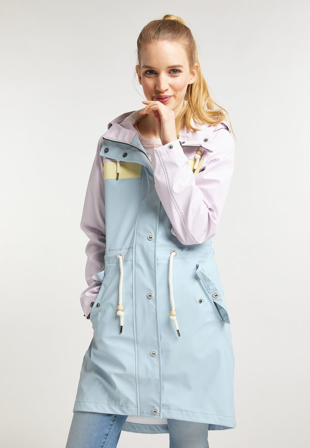 SCHMUDDELWEDDA COLOR BLOCK FRIESENNERZ - Parka - pastell colorblock