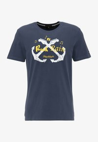 Schmuddelwedda - T-SHIRT - T-shirt imprimé - marine - 4
