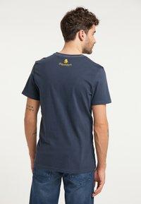 Schmuddelwedda - T-SHIRT - T-shirt imprimé - marine - 2