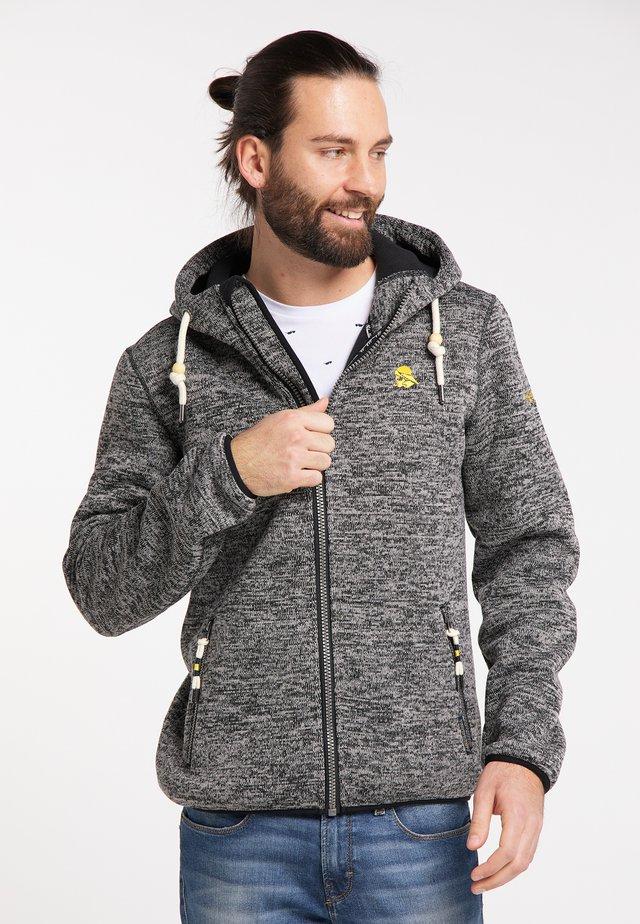 Light jacket - anthrazit melange