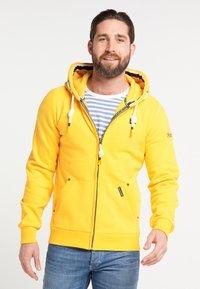 Schmuddelwedda - Zip-up hoodie - mustard - 0