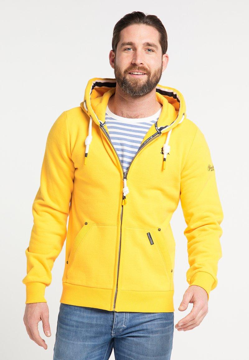 Schmuddelwedda - Zip-up hoodie - mustard