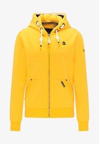 Schmuddelwedda - Zip-up hoodie - mustard - 4