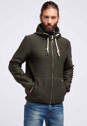 Light jacket - oliv melange