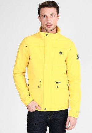 ANORAK - Chaqueta outdoor - yellow