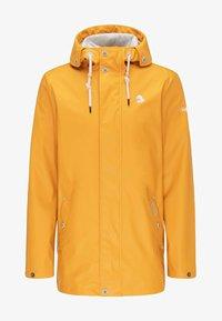 Schmuddelwedda - ANORAK - Waterproof jacket - yellow - 4