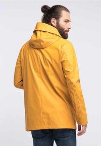 Schmuddelwedda - ANORAK - Waterproof jacket - yellow - 2
