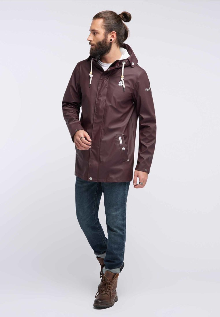 Schmuddelwedda - ANORAK - Waterproof jacket - bordeaux