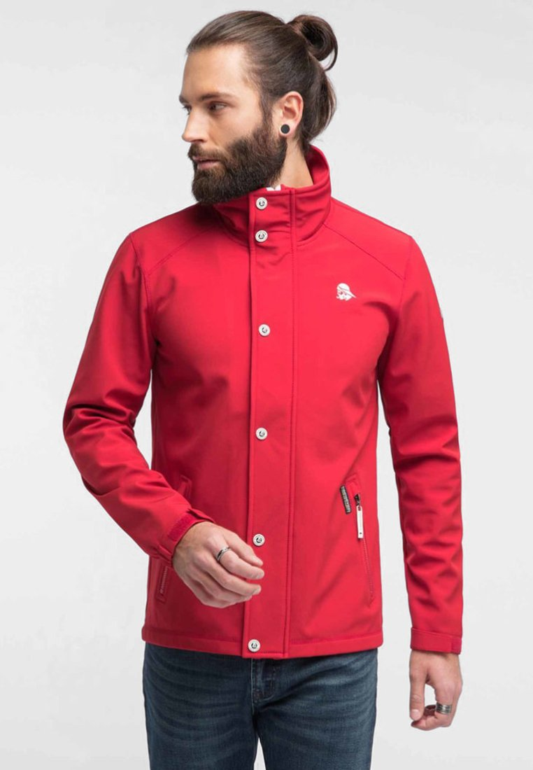 Schmuddelwedda - Outdoor jacket - red