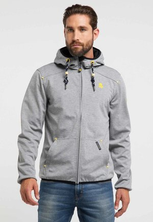 Outdoor jacket - mottled grey