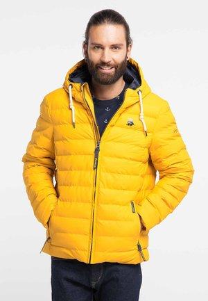 Zimní bunda - mustard