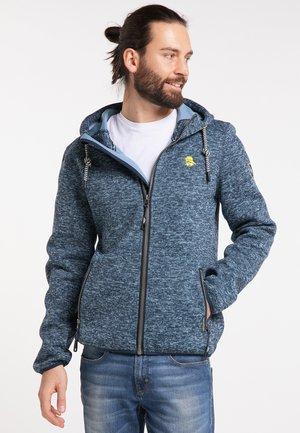 Fleece jacket - jeansblue melange