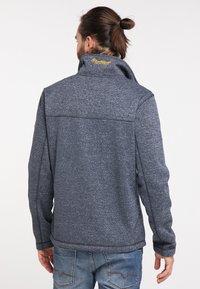 Schmuddelwedda - Fleece jacket - marine melange - 2