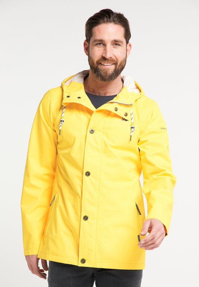 MIT MAGICPRINT - Regnjakke / vandafvisende jakker - yellow
