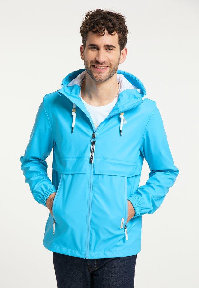 Outdoorjacka - neonblau