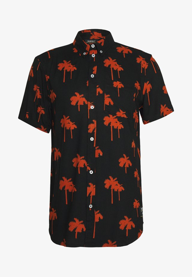 ODEN PALM - Shirt - black