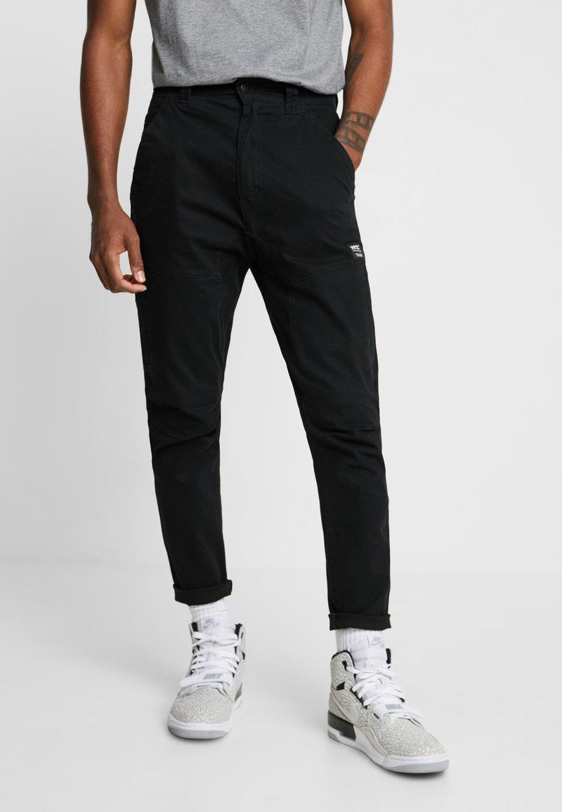 WeSC - MONTAUK PANT - Stoffhose - black