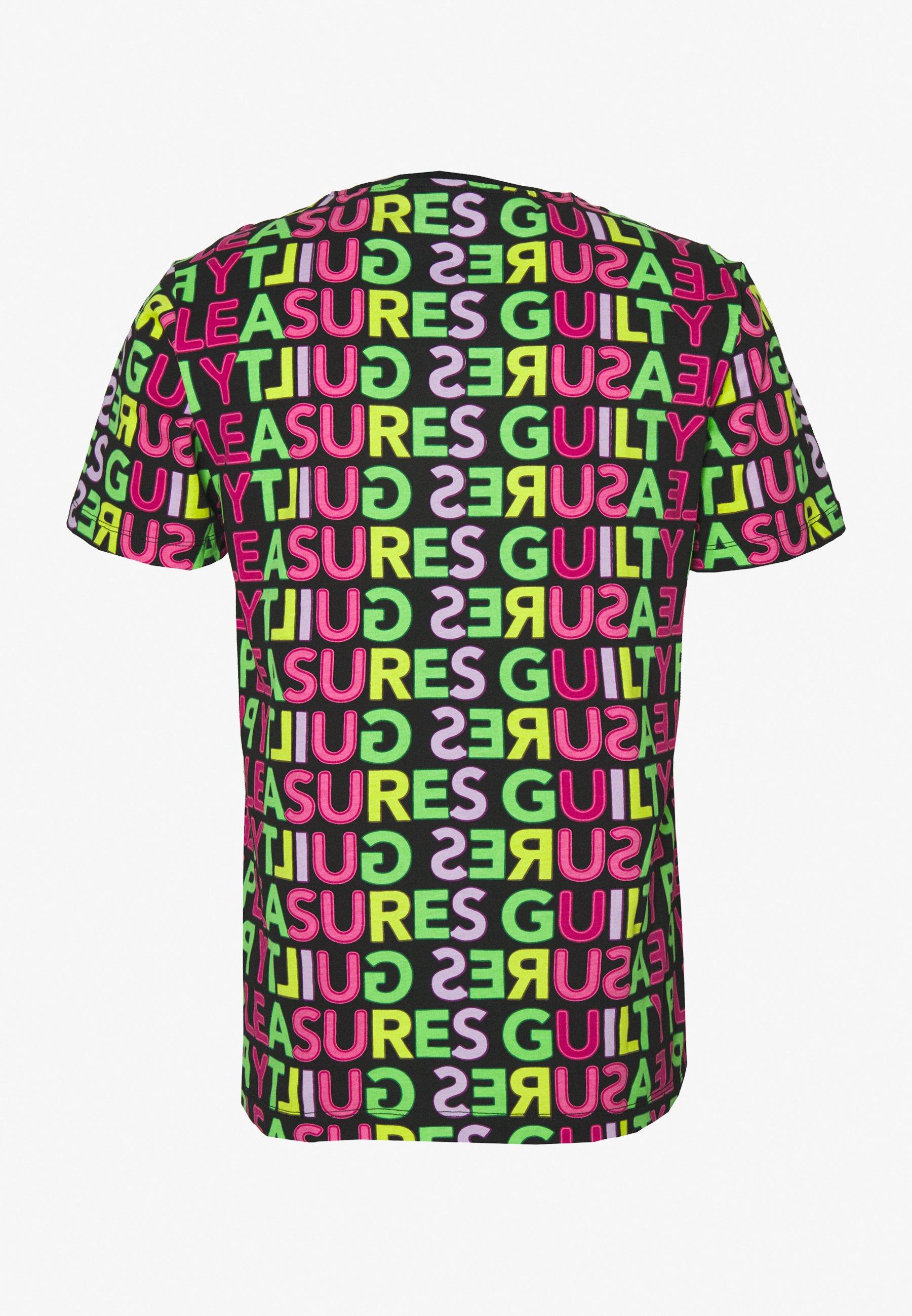 Wesc Mason Guilty Pleasures - T-shirt Con Stampa Black