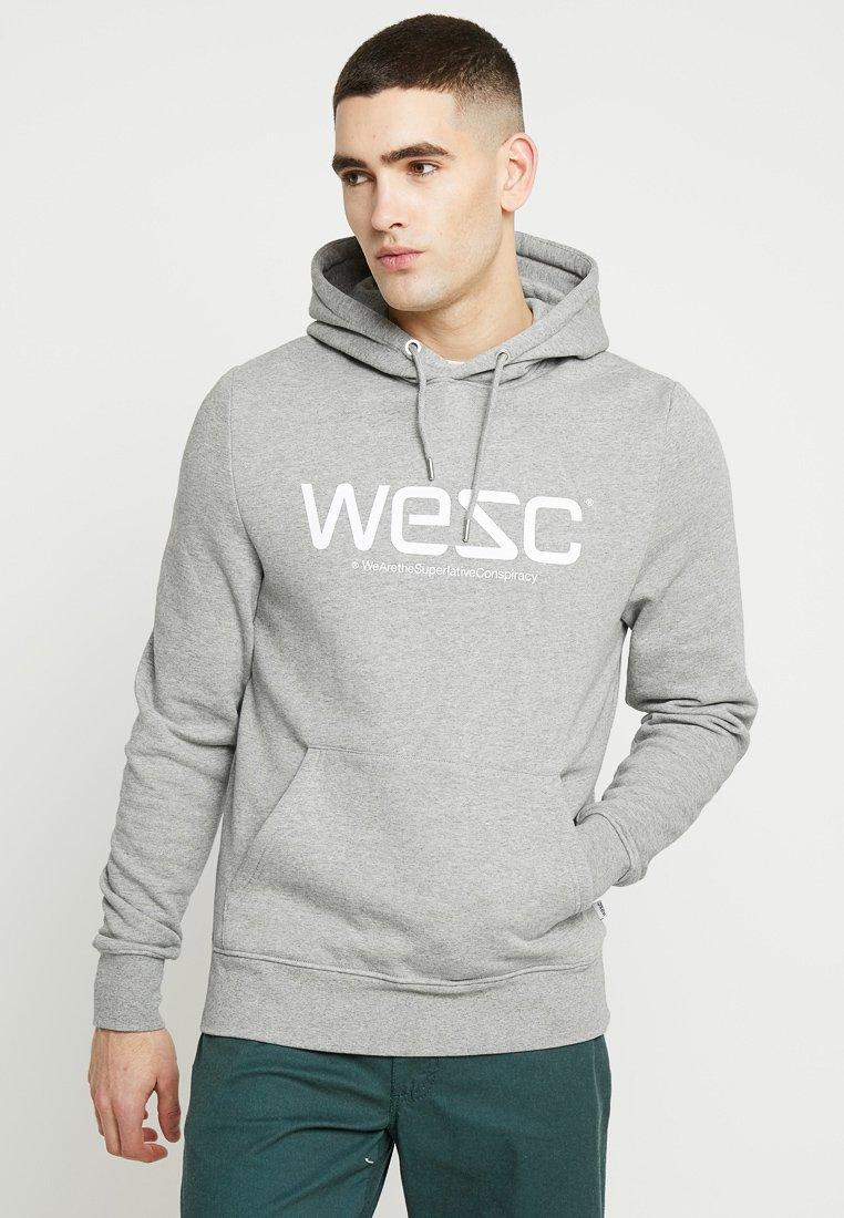 WeSC - HOODIE - Felpa con cappuccio - grey melange
