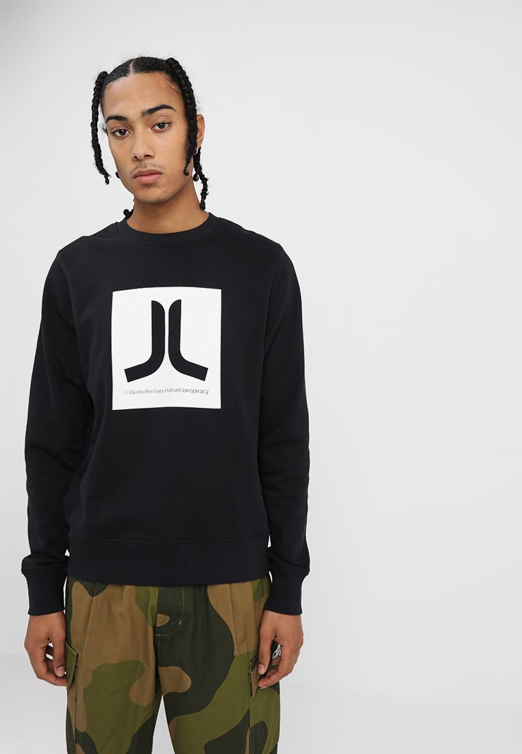 WeSC - BOX ICON  - Sweatshirt - black