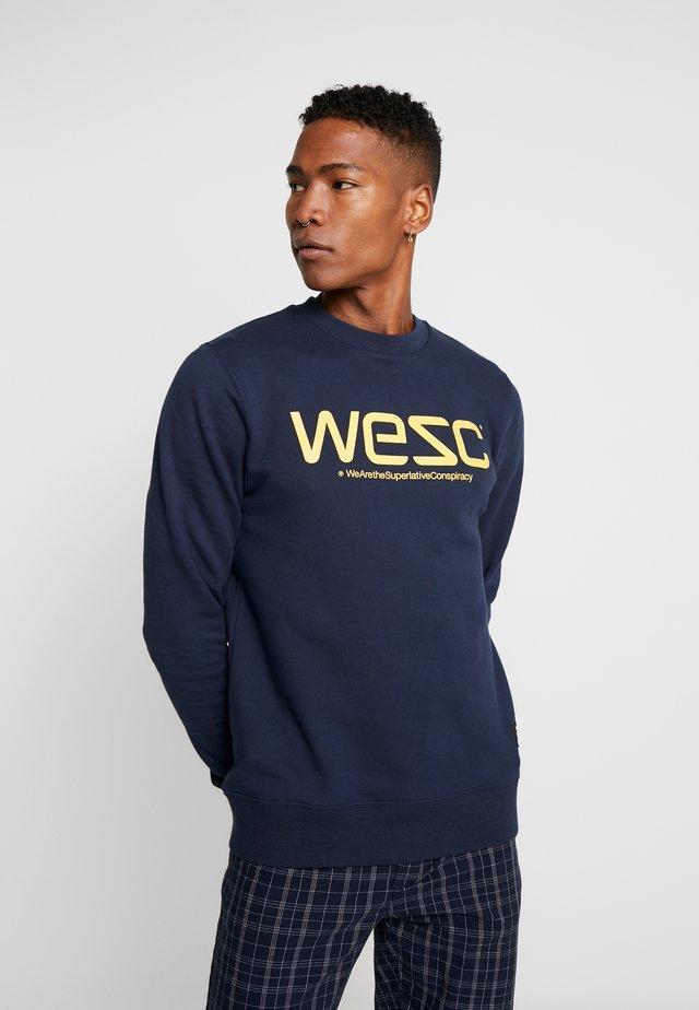 WESC - Collegepaita - navy