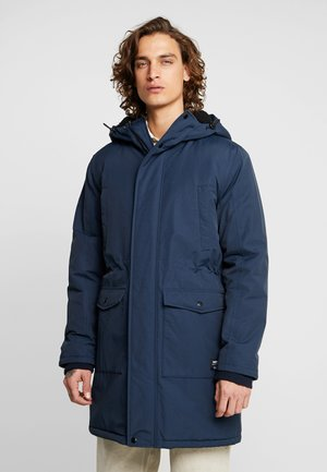 Zimní kabát - blueberry
