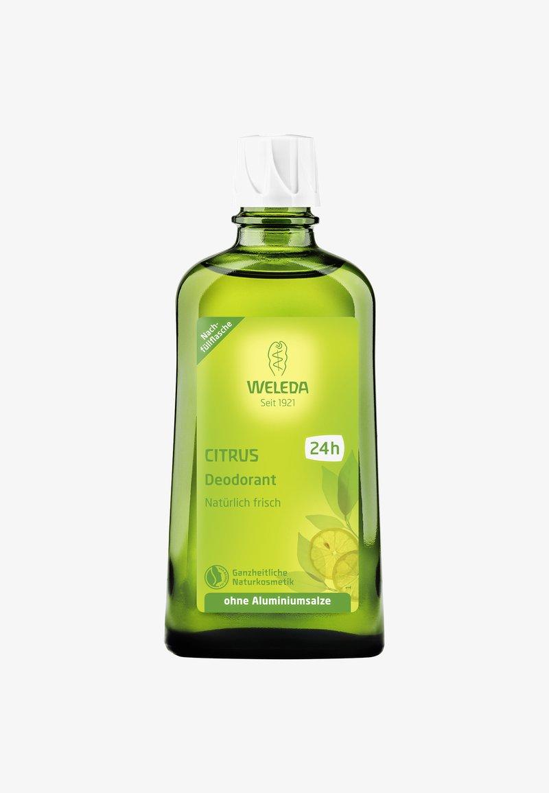 Weleda - CITRUS DEODORANT REFILL 200ML - Deodorant - -