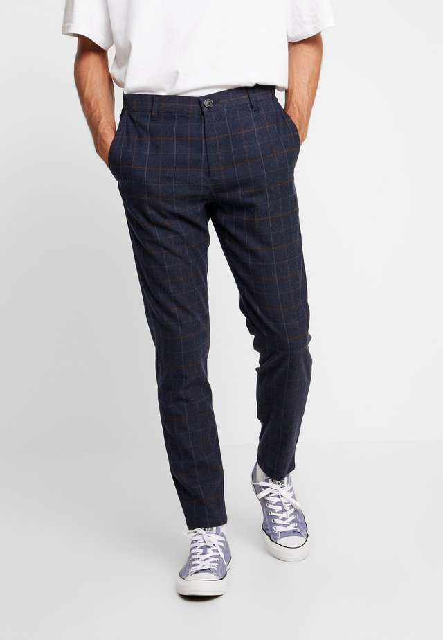 JANZIK PANTS - Trousers - navy