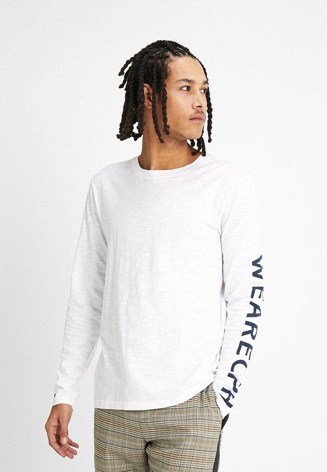 TROP TEE - Långärmad tröja - white