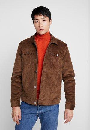 DAKOTA JACKET  - Summer jacket - dark brown