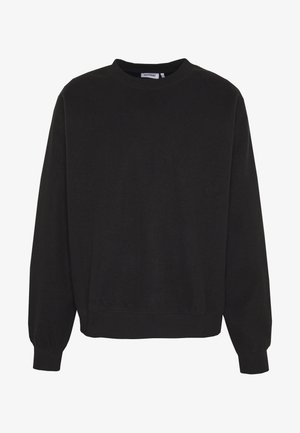 UNISEX WILLY REVERSED - Sweatshirt - washed black