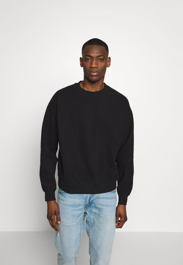 UNISEX WILLY REVERSED - Collegepaita - washed black