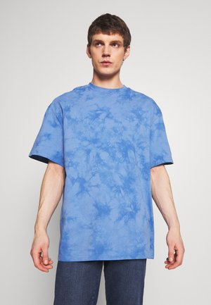 UNISEX GREAT - Print T-shirt - blue tie dye