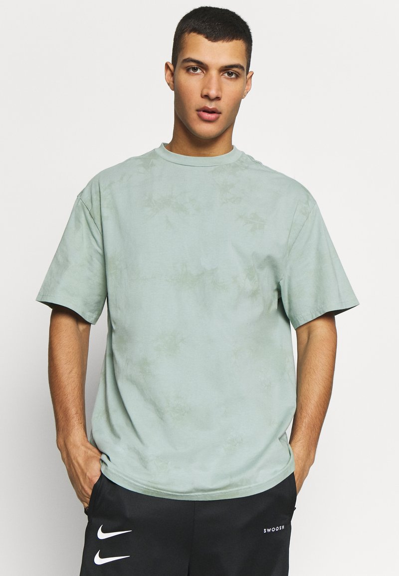 Weekday - UNISEX GREAT - T-shirts med print - turquiose