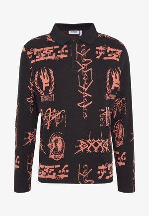 HANNES GLOBAL JACQUARD - Sweatshirt - black