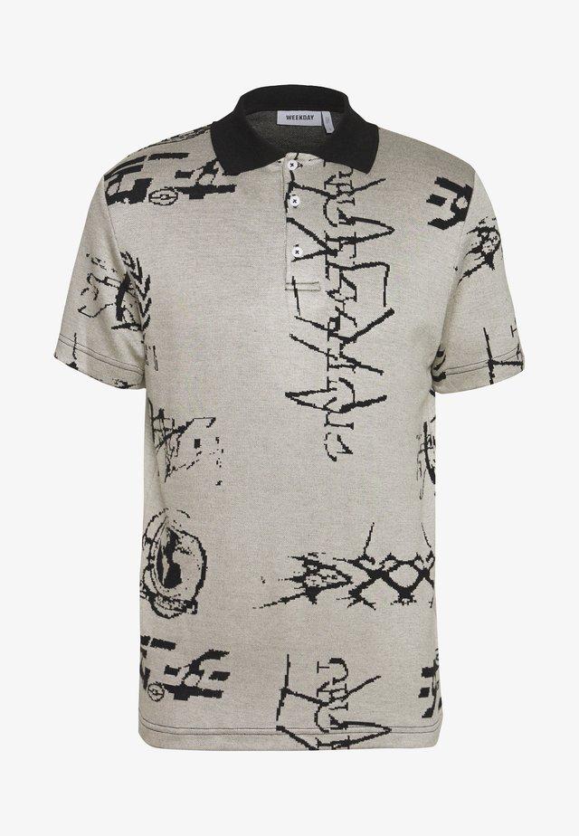UNISEX SAMIR GLOBAL  - Poloshirt - grey/black