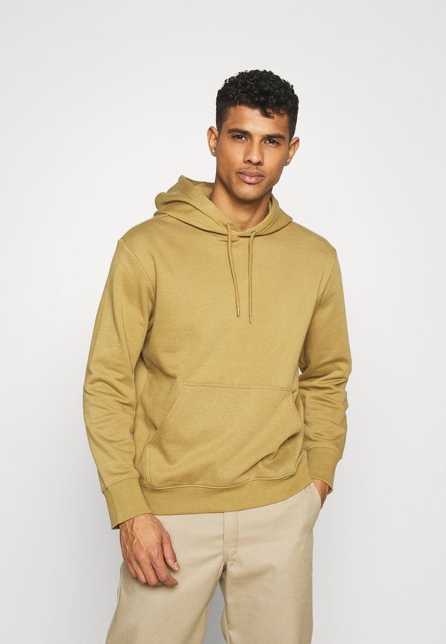 PER HOODIE - Jersey con capucha - brown